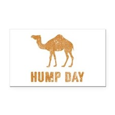 Vintage Hump Day Rectangle Car Magnet