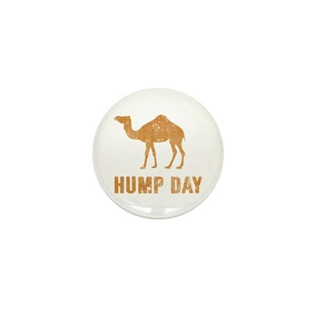 Vintage Hump Day Mini Button (10 pack)