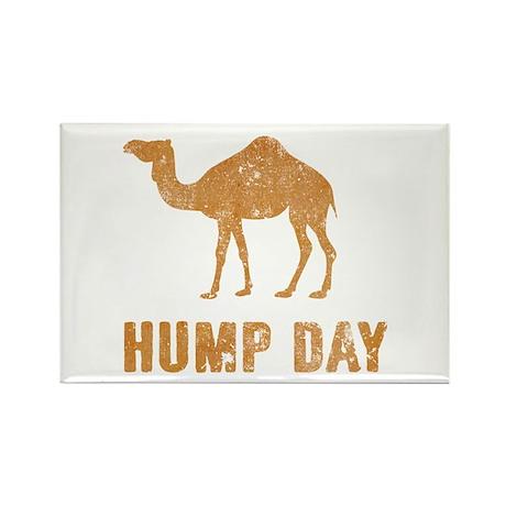Vintage Hump Day Rectangle Magnet (100 pack)