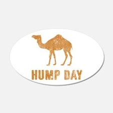 Vintage Hump Day Wall Decal