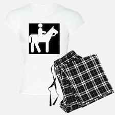 Horses Broke Black Pajamas
