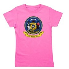 Wisconsin Seal Girl's Tee