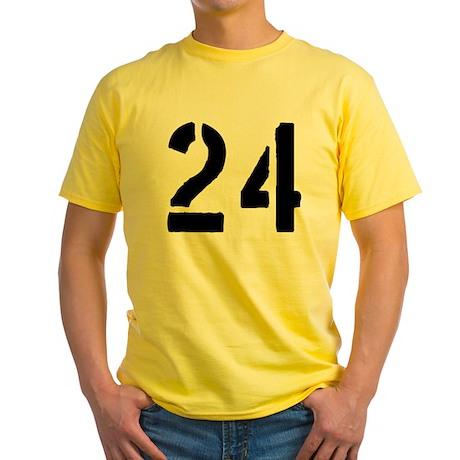 24 Yellow T-Shirt