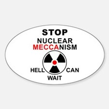 Nuclear Mechanism Oval Decal