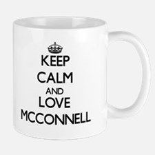 Keep calm and love Mcconnell Mugs