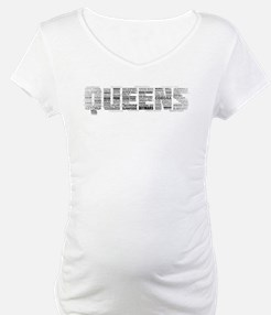 Queens New York Typography Shirt