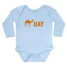 Hump Day Camel Long Sleeve Infant Bodysuit