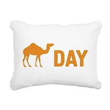 Hump Day Camel Rectangular Canvas Pillow