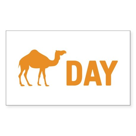 Hump Day Camel Sticker (Rectangle)