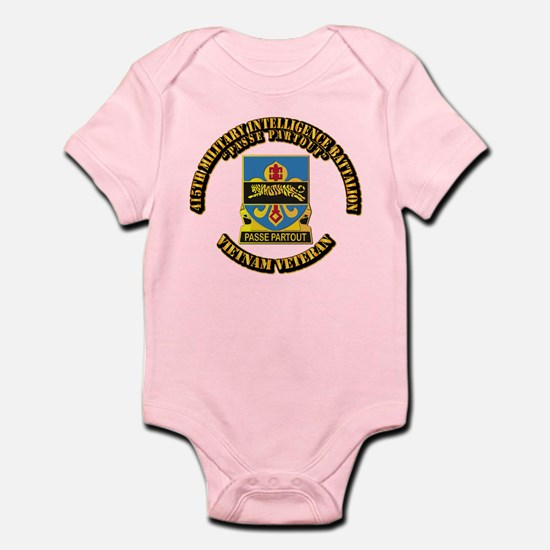 DUI - 415th Military Intelligence Battalion Infant