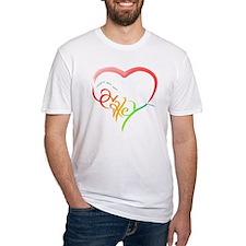 Haley rainbow heart Shirt