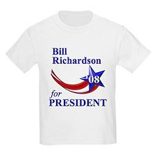 Richardson for President Kids T-Shirt