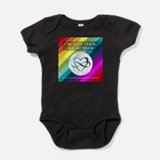 I'M WITH THEM Baby Bodysuit