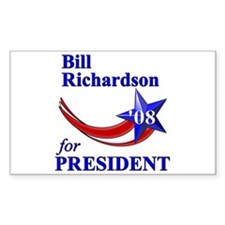 Richardson for President Rectangle Decal