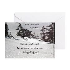 A Winter's Brew Haiku Greeting Cards (Pk Of 20)
