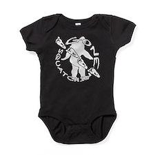Bigfoot tracker 2 Baby Bodysuit