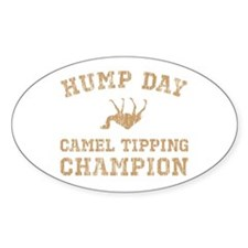 Hump Day Camel Tipping Champion Decal