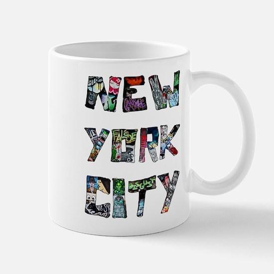 New York City Street Art Mugs