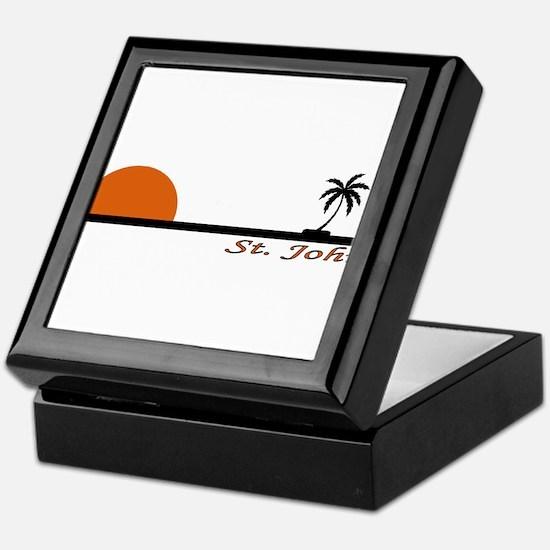 Funny St. john usvi Keepsake Box
