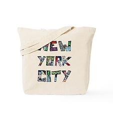 New York City Street Art Tote Bag