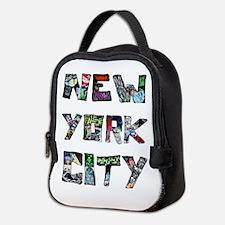 New York City Street Art Neoprene Lunch Bag
