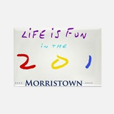 morristown Rectangle Magnet