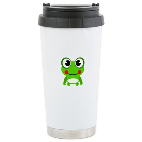 Stainless Steel Travel Mug Frog