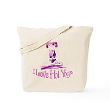 I Love Hot Yoga/Yoga Fanatic Tote Bag