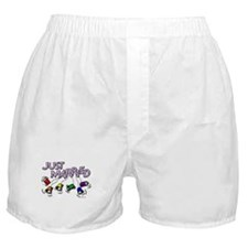 Just Married Gay Rights Boxer Shorts