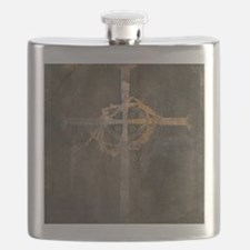"""Crux"" Cross Flask"