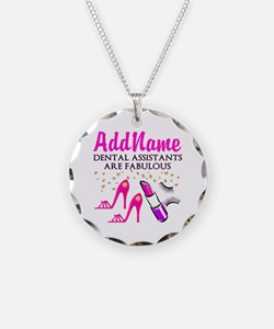 SUPER DENTAL ASST Necklace Circle Charm