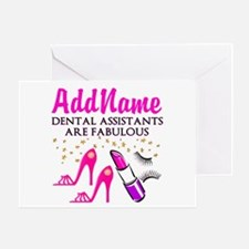 SUPER DENTAL ASST Greeting Card