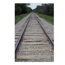Railroad Tracks Postcards (Package of 8)
