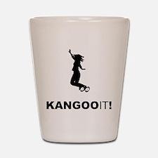 Kangoo Jumps Shot Glass