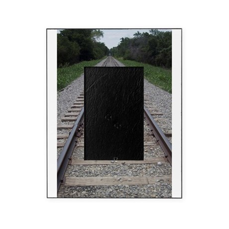 Railroad Tracks Picture Frame By Klittleshop