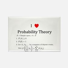 I Heart Probability Theory (with math) Magnets