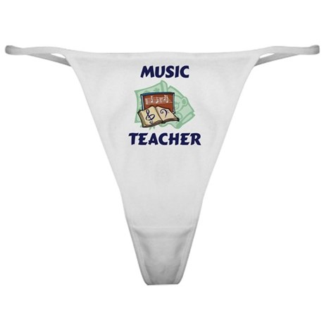 Music Teacher Classic Thong