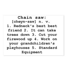 Chain Saw Definition Postcards (Package of 8)