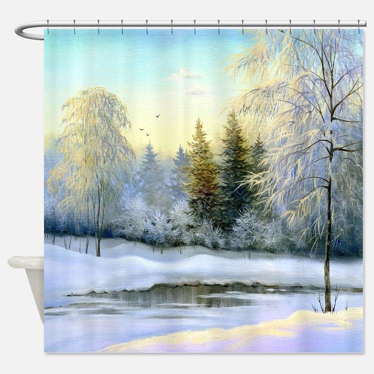 Winter Bathroom Accessories & Decor - CafePress