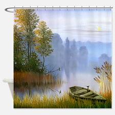 Beautiful Summer Painting Shower Curtain