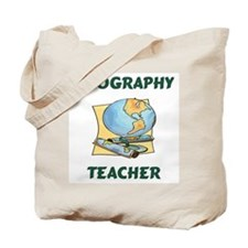 Geography Teacher Tote Bag