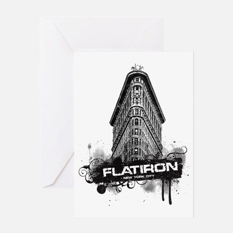 Flatiron Building New York Greeting Cards