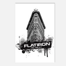 Flatiron Building New York Postcards (Package of 8
