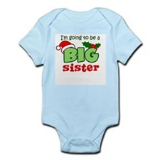 Big Sister to be - Christmas Body Suit