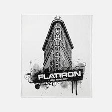 Flatiron Building New York Throw Blanket