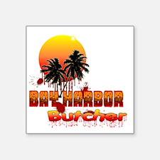 "Dexter ShowTime Bay Harbor  Square Sticker 3"" x 3"""