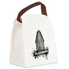 Flatiron Building New York Canvas Lunch Bag