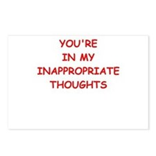 dirty mind Postcards (Package of 8)