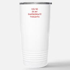dirty mind Travel Mug