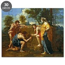 Arcadian Shepherds by Nicolas Poussin Puzzle